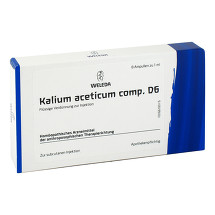 Produktbild Kalium aceticum comp. D 6 Ampullen