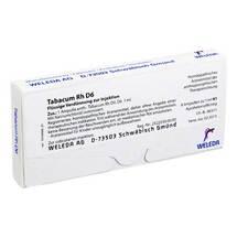 Produktbild Tabacum Rh D 6 Ampullen