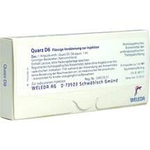Produktbild Quarz D 6 Ampullen