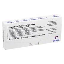 Produktbild Quarz D 30 / Resina laricis D 5 aa Ampullen