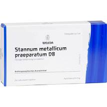 Produktbild Stannum metallicum Präparat D 8 Ampullen