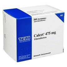 Produktbild Calcet 475 mg Filmtabletten
