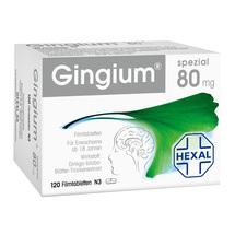 Produktbild Gingium spezial 80 Filmtabletten