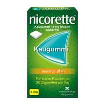 Produktbild Nicorette Kaugummi 4 mg freshfruit