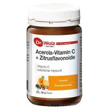 Produktbild Vitamin C + Bioflavonoide Dr. Wolz Pulver
