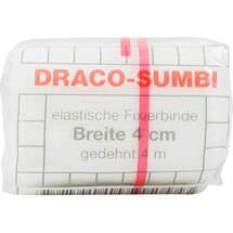 Produktbild Dracosumbi Fixierbinde 4 cm x 4 m weiß