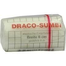 Dracosumbi Fixierbinde 6 cm x 4 m weiß