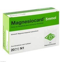 Produktbild Magnesiocard 5 mmol Pulver