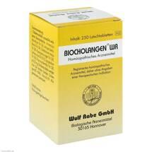 Produktbild Biocholangen WR Tabletten