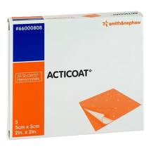 Produktbild Acticoat 5x5 cm antimikrobielle Wundauflage