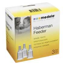 Medela 3er-Set Ersatzsauger Habermann