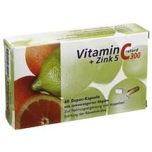Vitamin C 300 + Zink 5 retard Kapseln