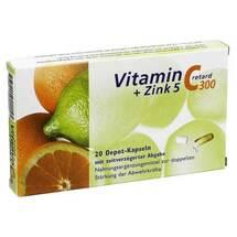Produktbild Vitamin C 300 + Zink 5 retard Kapseln