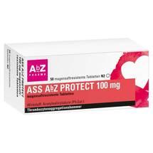 ASS AbZ Protect 100 mg magensaftresistent Tabletten