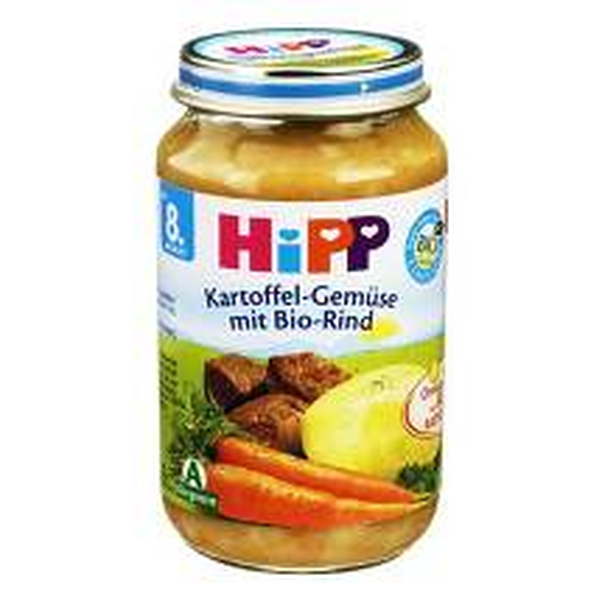 Produktbild Hipp Menü n.d.8 Mon. Kart.und Gem.in Rindfleisch