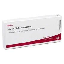 Aurum / Belladonna comp. Ampullen