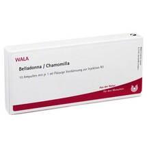 Produktbild Belladonna Chamomilla Ampullen