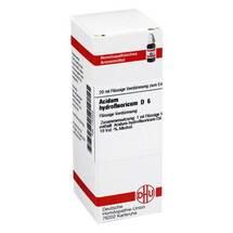 Produktbild Acidum hydrofluoricum D 6 Dilution