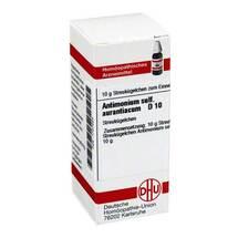 Produktbild Antimonium sulfuratum aurantiacum D 1