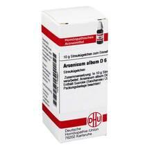 Produktbild Arsenicum album D 6 Globuli