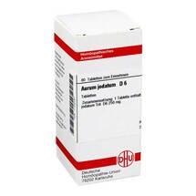 Produktbild Aurum jodatum D 6 Tabletten