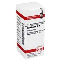 Produktbild Belladonna D 4 Globuli