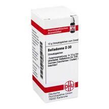Produktbild Belladonna D 30 Globuli