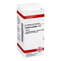 Produktbild Cuprum aceticum D 4 Tabletten