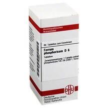 Produktbild Ferrum phosphoricum D 6 Tabletten