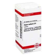 Produktbild Hepar sulfuris D 6 Tabletten