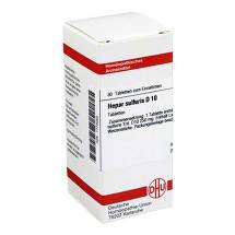 Hepar sulfuris D 10 Tabletten