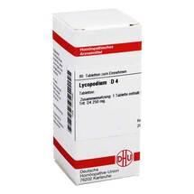 Produktbild Lycopodium D 4 Tabletten