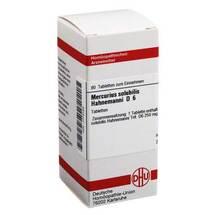 Mercurius solubilis D 6 Tablett