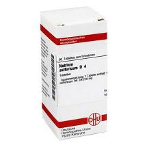 Produktbild Natrium sulfuricum D 4 Tabletten