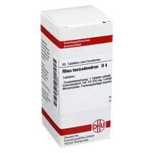 Produktbild Rhus toxicodendron D 4 Tabletten