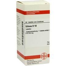 Produktbild Silicea D 10 Tabletten