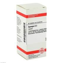 Produktbild Spongia D 2 Tabletten