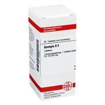 Spongia D 3 Tabletten