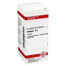Produktbild Spongia D 4 Tabletten