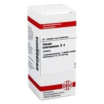 Produktbild Zincum valerianicum D 4 Tabletten