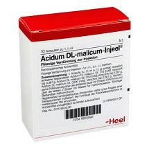 Produktbild Acidum DL-malicum Injeel Ampullen
