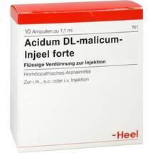 Produktbild Acidum DL-malicum Injeel forte Ampullen