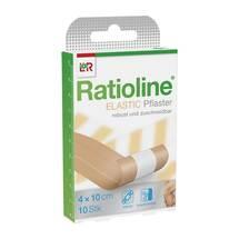 Produktbild Ratioline elastic Wundschnellverband 4 cm x 1 m