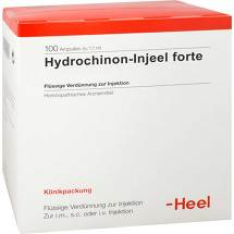 Produktbild Hydrochinon Injeel forte Ampullen