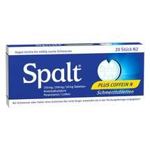 Produktbild Spalt Plus Coffein N Tabletten