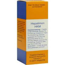Produktbild Hepatimon Hkm Tabletten