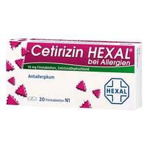 Produktbild Cetirizin Hexal Filmtabletten bei Allergien