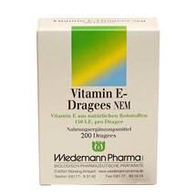 Produktbild Vitamin E Dragees NEM