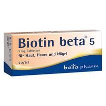 Produktbild Biotin Beta 5 Tabletten