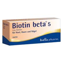 Produktbild Biotin Beta 5 Tabletten